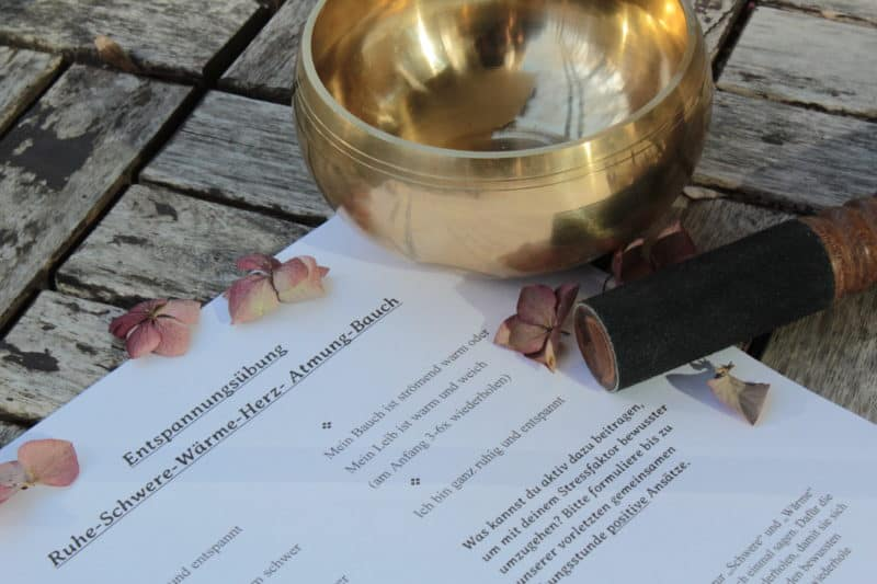Entspannungszeit Leipzig Autogenes Training, Yoga Nidra und Meditation